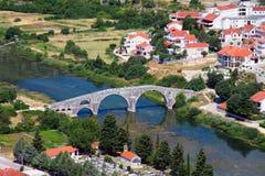 antyczny łukowaty most Zdjęcie Royalty Free