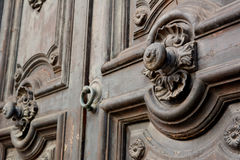 Antyczny włoski drzwi fotografia royalty free