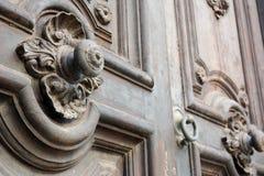 Antyczny włoski drzwi fotografia stock