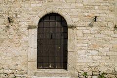Antyczny wejściowy drzwi Obraz Royalty Free