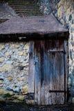 Antyczny wytwórnii win ` s drzwi w Tuscany 22 obraz stock