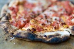 antyczny zakończenie gotujący domowy pizzy przepis domowy zdjęcie royalty free