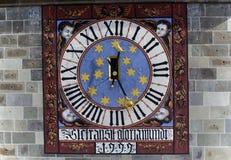 antyczny zegarowy szczegół Obraz Royalty Free