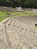antycznych ławek rzymski theatre Zdjęcia Stock