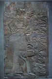 Antycznych Babylonia i Assyria basów ulga Fotografia Royalty Free