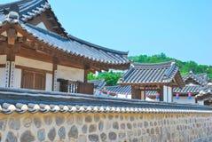 antycznych buldings stylowa otaczająca świątyni ściana fotografia royalty free