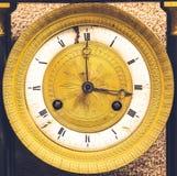 Antyków zegary Wystawiający przy muzeum Zdjęcia Stock