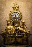 Antyków zegary Wystawiający przy muzeum Zdjęcie Royalty Free