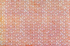 Antyk drukujący adamaszkowy powtórka wzór Obrazy Stock