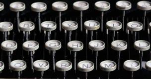 antyk keys maszyny do pisania Zdjęcie Royalty Free