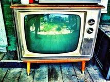 antyk tv Zdjęcia Stock