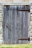 Antyk Wietrzejący drzwi Kamienny budynek Obraz Royalty Free