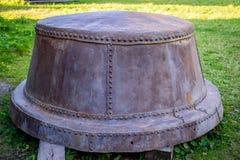 Antyka żelazny zbiornik zdjęcia royalty free