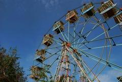 Antyka Ferris Stylowy koło zdjęcia stock