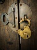 Antyka klucza kędziorek Zdjęcia Royalty Free
