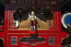 Antyka Marcowy królewiątko prowadzi, St Patrick dnia parada, 2014, Południowy Boston, Massachusetts, usa Obraz Stock