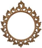 antyka ramowy złocisty obrazek zdjęcia royalty free