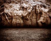 Antyka wieka sceny ściana Zdjęcia Royalty Free
