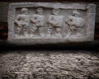 Antyka wieka sceny ściana Zdjęcie Royalty Free