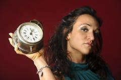 Antyka zegar Zdjęcia Royalty Free