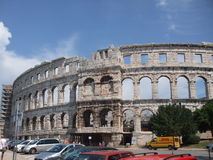 antykwarscy amphitheatre pula Obraz Stock