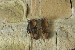 antykwarscy buty Obrazy Royalty Free