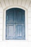 Antykwarscy drewniani okno Obrazy Royalty Free