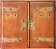 Antykwarscy Gabinetowi drzwi Obraz Royalty Free