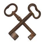 antykwarscy klucze Obrazy Royalty Free