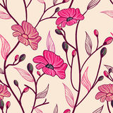 antykwarscy kwiaty ilustracji