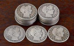 Antykwarscy Przyrodni dolary Obrazy Stock