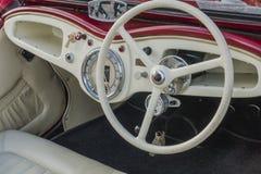 Antykwarscy samochody fotografia royalty free