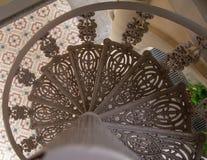 Antykwarscy schody Fotografia Royalty Free