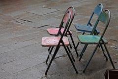 Antykwarscy krzesła Fotografia Stock