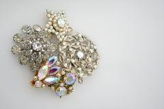 antykwarska biżuteria kostiumowa Obrazy Stock