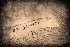 antykwarska biblia fotografia stock