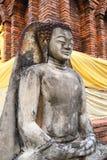 Antykwarska Buddha statua Zdjęcie Stock