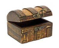 antykwarska drewniana skrzynia Obraz Stock