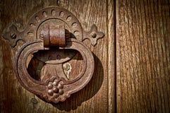 antykwarska drzwiowa gałeczka fotografia royalty free