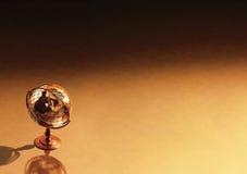 antykwarska globe tło zdjęcia royalty free
