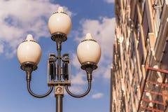 antykwarska latarniowa ulica Obrazy Stock