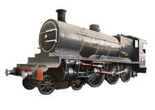 antykwarska lokomotywa Obrazy Royalty Free
