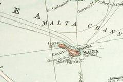 antykwarska mapa Zdjęcie Royalty Free
