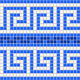 Antykwarska Morska mozaika Fotografia Royalty Free
