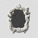 Antykwarska obrazka, wizerunku, fotografii lub lustra rama, Obraz Royalty Free