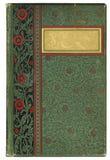antykwarska okładka książki fotografia stock