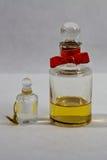 Antykwarska pachnidło butelka 1872, 1890 - zdjęcia stock