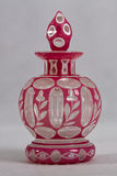 Antykwarska pachnidło butelka 1830, 1850 - Fotografia Royalty Free