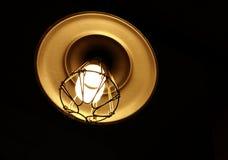 Antykwarska przeciwwybuchowa lampa Obraz Stock