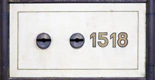 antykwarska pudełka depozytu skrytka Fotografia Royalty Free